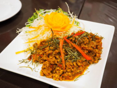 「ポムタイ料理」元タイ大使館料理人が作る本格南タイ料理が美味しい!